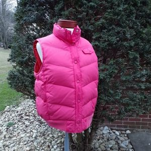 GAP Down Puffer Vest Retro Frost Free Christmas